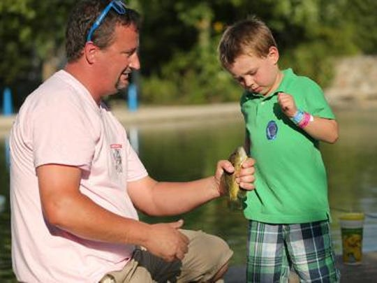 Hook a Kid on Fishing is planned Saturday at Middlefork