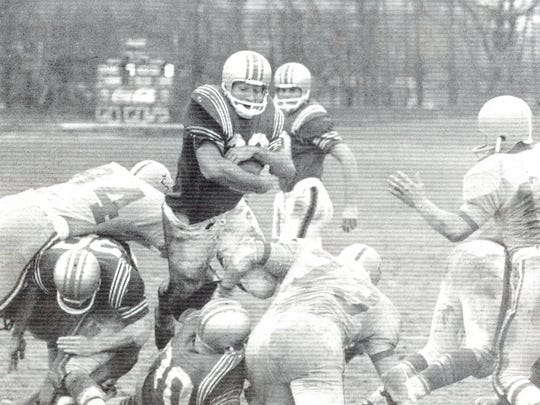 John Ogles was a two-time all-OVC first team selection and left APSU as its all-time leading rusher with 2,932 (a record that stood for almost 40 years) while carrying the ball 636 times and also owned the record for single-game carries (36).