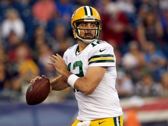 NFL: Preseason-Green Bay Packers at New England Patriots