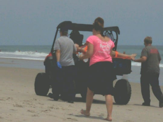 A 14-year-old girl was reportedly bitten by a shark July 14, 2018, at Playalinda Beach.