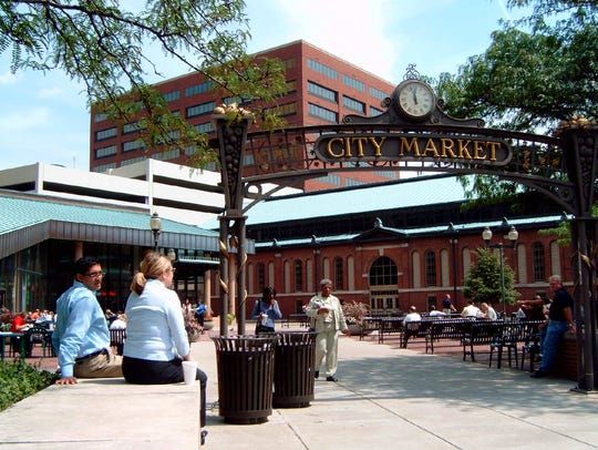 City Market in Downtown Indianapolis.