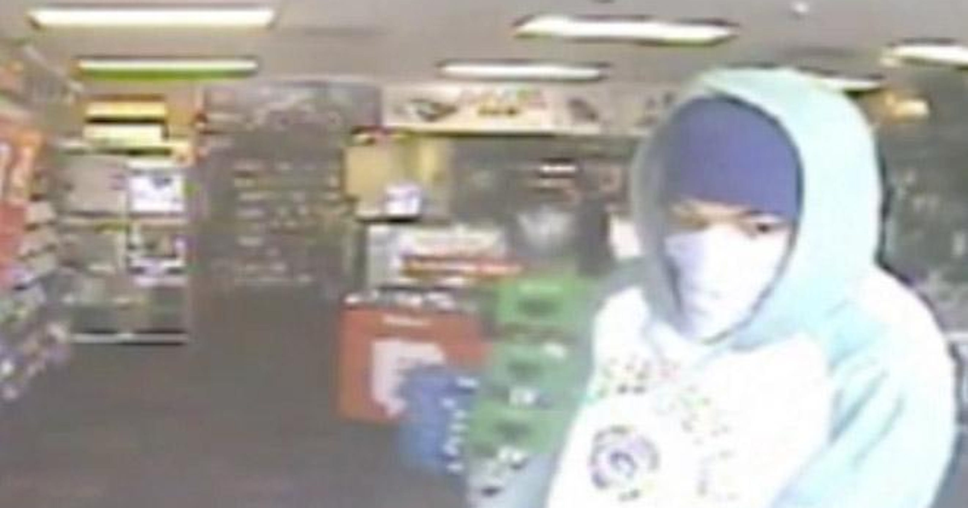 Surveillance video shows man who robbed GameStop with knife