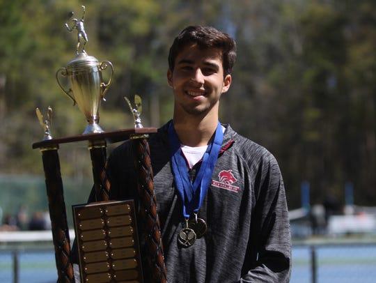Chiles senior Josh Macri captured his second straight