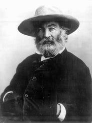 Walt Whitman in undated portrait.