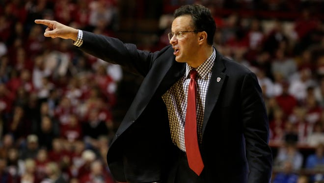 Indiana coach Tom Crean, shown during a game in December, said there are talks with Louisville about a series between the teams.