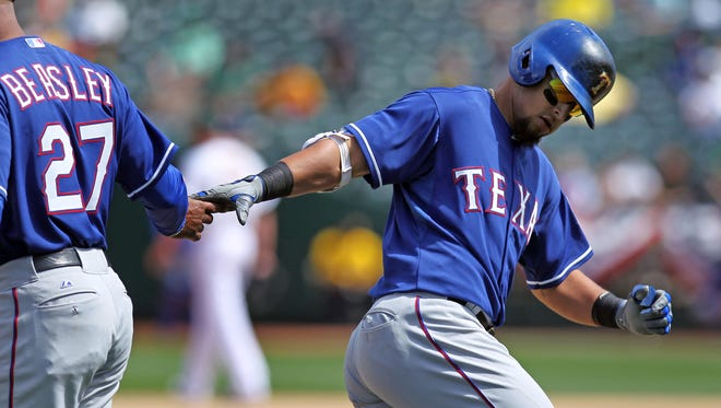 Rougned Odor is one of four Rangers to hit a home run.