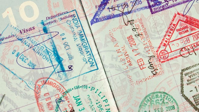 A standard-issue passport is 28 pages long, and when you're applying or renewing, you can request a longer, 52-page passport at no additional cost.