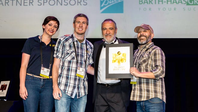 Quest Brewing of Greenville  took home a gold medal at the 2016 World Beer Cup awards.