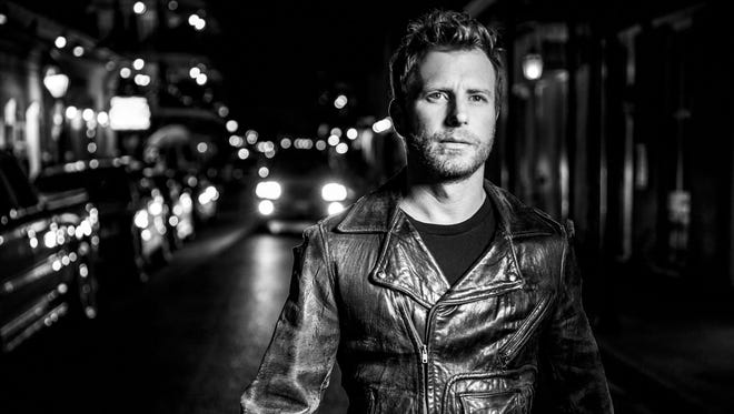 "Country star Dierks Bentley brings tunes from his new album, ""Black,"" to Big Flats on Sunday."