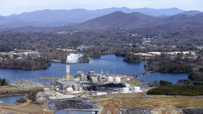 Duke Energy's generating plant off Long Shoals Road is shown in this March 2015 photo.