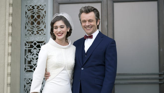 Virginia Johnson (Lizzy Caplan) and William Masters (Michael Sheen) got married in the fourth-season closing episode (and now series finale) of Showtime's 'Masters of Sex.'