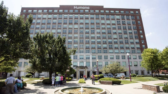 Humana's offices in downtown Louisville