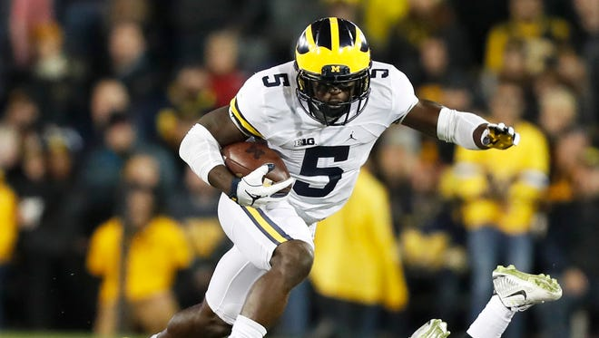 S Jabrill Peppers, Michigan – Peppers isn't a fit for every defense, but he's too good of a player to make it out of Round 1. He can play safety, return kicks and would be a Swiss army knife in Teryl Austin's defense.