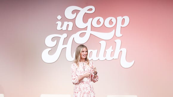Gwyneth Paltrow launched her health and wellness summit, 'In Goop Health,' on Saturday in Los Angeles.
