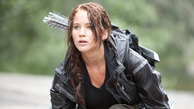 """Jennifer Lawrence in 2008's """"The Hunger Games."""""""