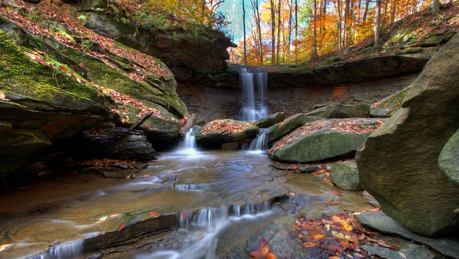 There's something else in Cleveland that rocks -- Cuyahoga Valley National Park in Ohio. It's a quick drive from both Cleveland and Akron, so there's no excuse not to visit. Take a hike, ride the scenic railroad or bike the towpath trail. Blue Hen Falls is a popular destination too. It's an easy hike, so feel free to bring the family.