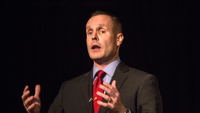 Mike Raisor is a finalist for the JCPS superintendent position.
