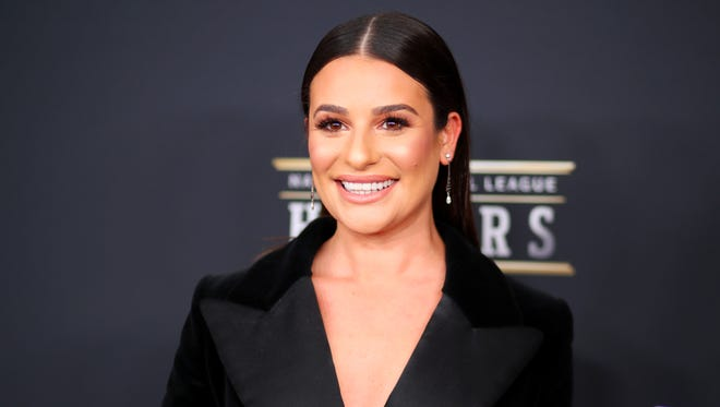 Lea Michele attends the NFL Honors at University of Minnesota on Feb. 3, 2018 in Minneapolis, Minnesota.