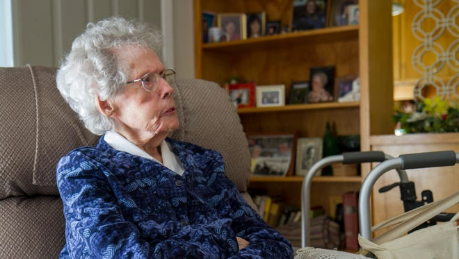 Bernice Matteucci celebrates her 100th birthday on Saturday. She's spent the majority of those years living in Great Falls, and over half a century in the same home.