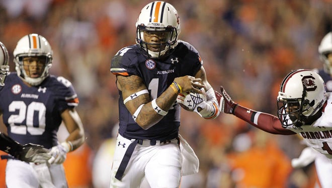 Nick Marshall and Auburn travel to Oxford, Miss., for a key SEC game against Ole Miss.