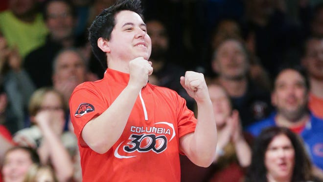 Jakob Butturff, shown at a 2018 PBA Tour event in Indianapolis, is back in town for the PBA Lubbock Sports Open this weekend at South Plains Lanes. Butturff has won two of his seven PBA Tour titles in Lubbock.