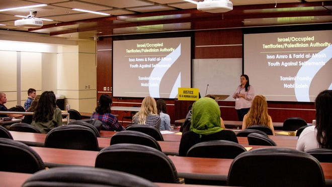 FSU's Amnesty International presented a Human Rights Conference at the Florida State College of Law on Sunday, Mar. 31st.