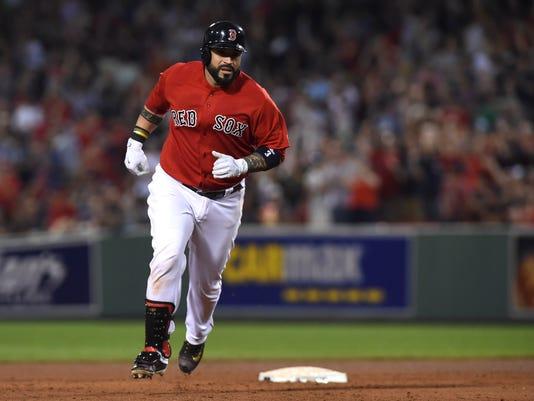 MLB: Los Angeles Angels at Boston Red Sox