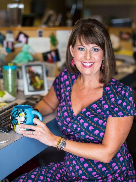 WHO-TV anchor Erin Kiernan