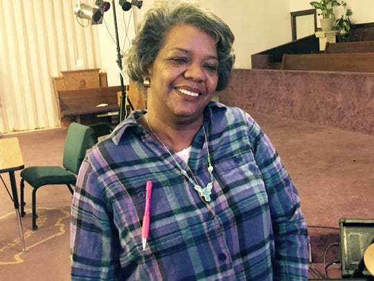Alica Walters, 56, heard regular talks on money management at City Covenant Church in Detroit in March 2016 and says she does feel a lot better since taking re-examining how she spends her limited income.