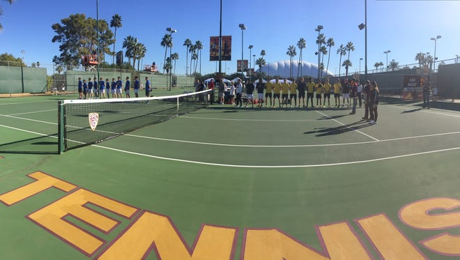 Arizona State men's tennis returned for the first time since 2008, losing 5-2 in a dual meet against Duke at Whiteman Tennis Center.
