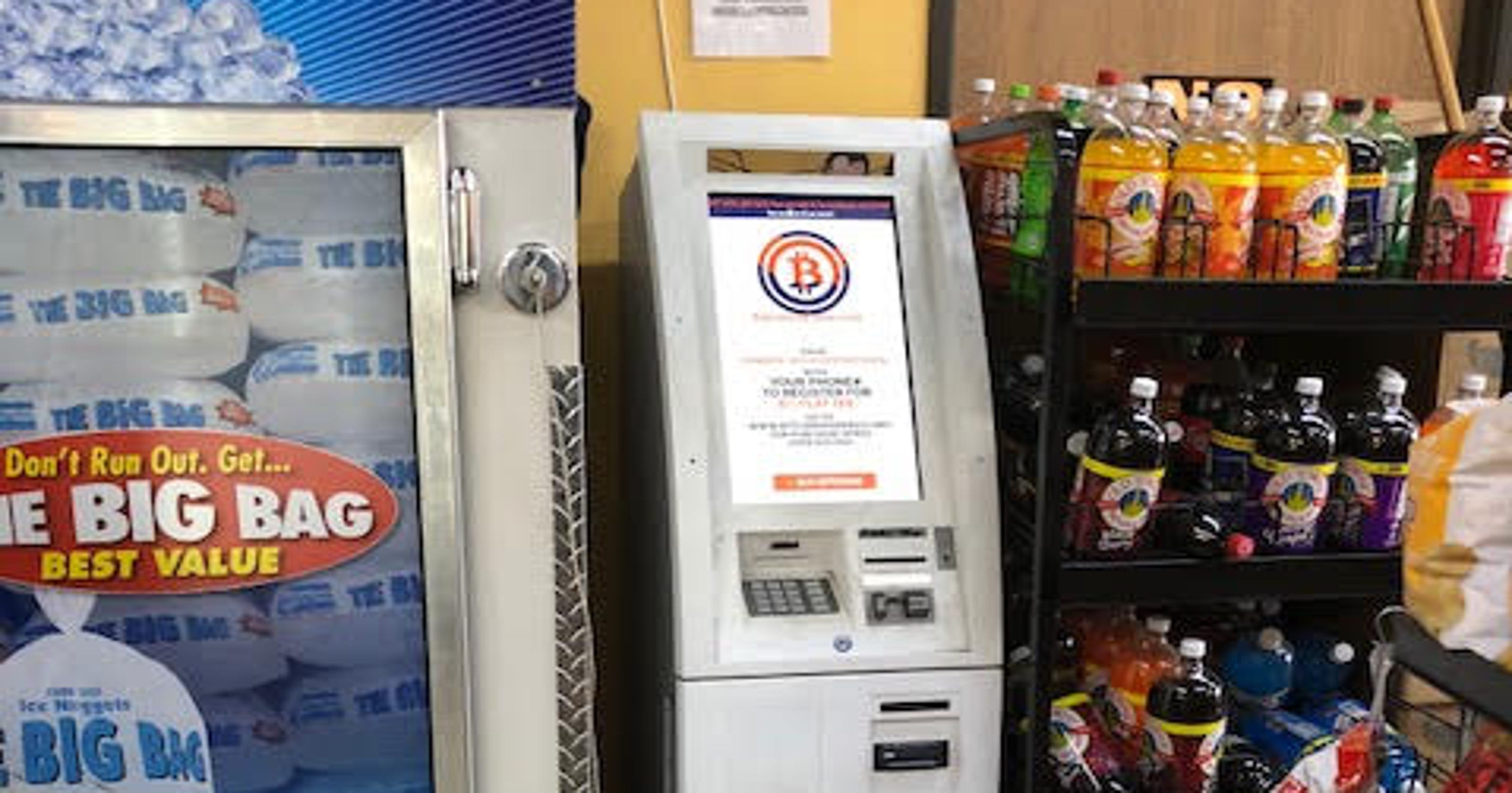 Bitcoin ATMs: Why Detroit gas stations, party stores have them