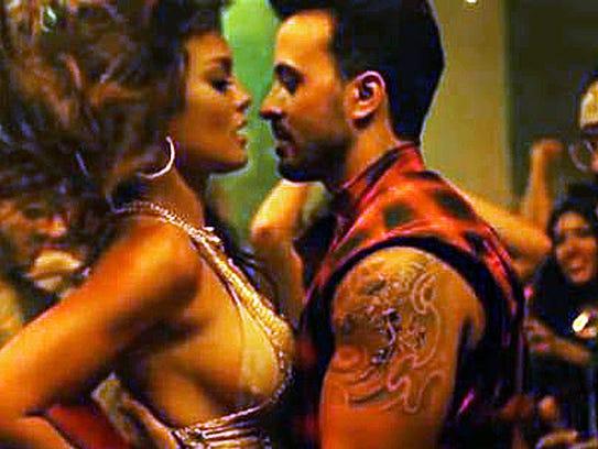 """Imagen del video de """"Despacito""""."""