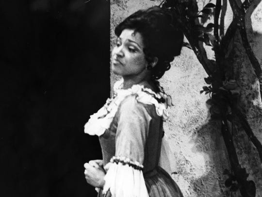 Kathleen Battle was cast in the role of Rosina in the