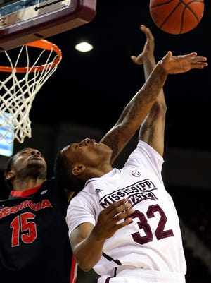 Mississippi State guard Craig Sword plans to battle in the paint for rebounds this season.
