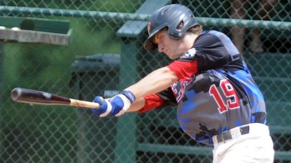 Pisgah rising senior Mason Fox plays showcase baseball for the Mountain Expos organization.