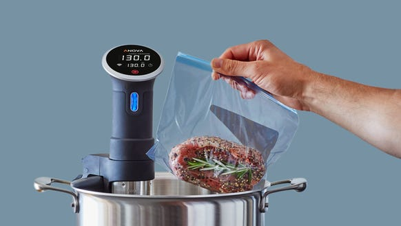 The perfect steak is simple with sous vide.