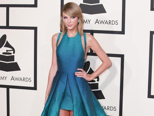 Taylor Swift at the Grammy Awards