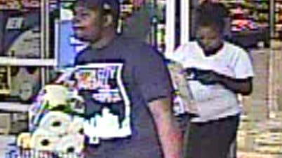 Westland Police are trying to identify this couple wanted to for using a debit card without permission.