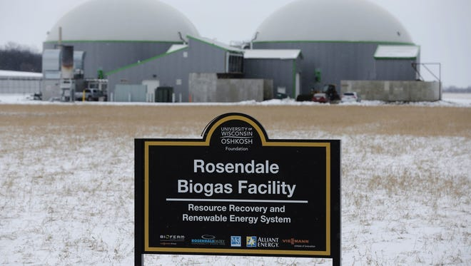 An electricity- generating project powered by cow manure is one of the investments that is the subject of a lawsuit against two former officials of the University of Wisconsin-Oshkosh. A biodigester system at the Rosendale Dairy in Fond du Lac County was funded by the foundation.