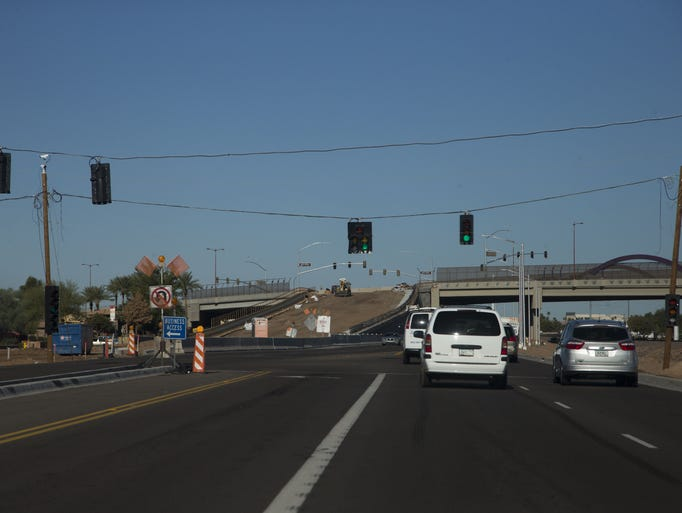 The Bell Road/Grand Avenue overpass in Surprise opened