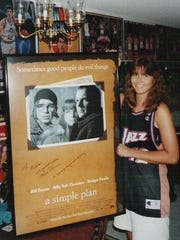 The autographed poster Bill Paxton sent to Movie Addict
