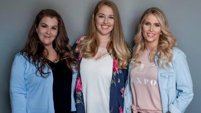 Vexpo co-founders from L-R: Melissa Gracin, Kristen Gracin-Shrimpton and Josey Baker.