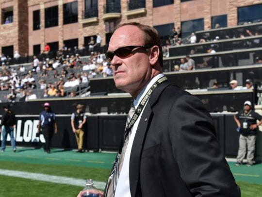 Colorado athletics director Rick George has a diverse