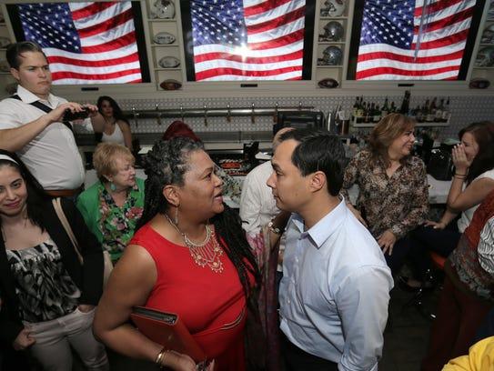 El Paso Black Democrats Chairwoman Sissy Byrd talked
