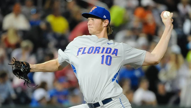 Florida left-hander A.J. Puk is among the players who could go No. 1 overall in the 2016 MLB Draft.