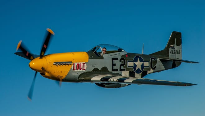 Planes like this P-51 Mustang from the Mid American Flight Museum are expected for the Breckenridge Airshow.