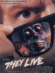 "John Carpenter's cult classic ""They Live"" will be shown"