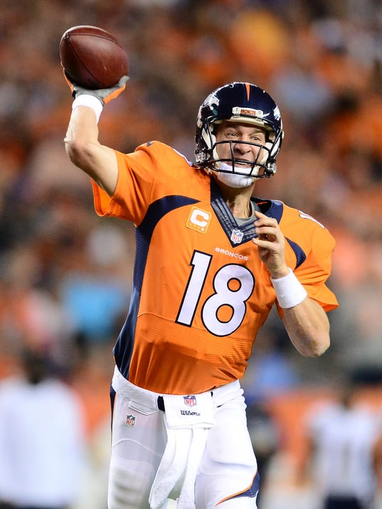 Peyton Manning Broncos Too Much For Banged Up Chargers