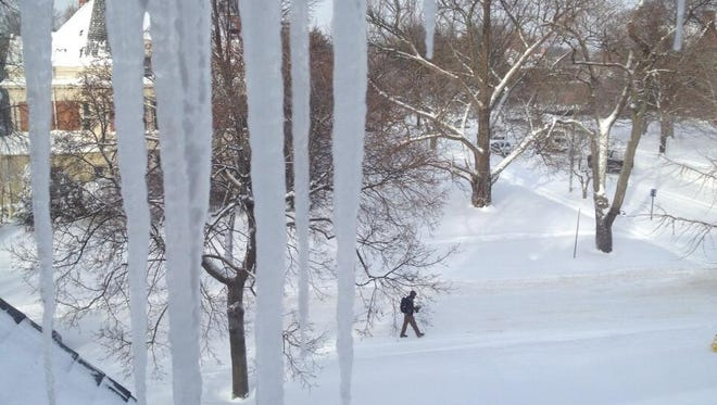 Temperatures were in the single digits in Rochester on Jan. 3.