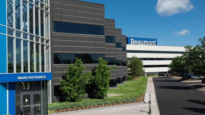 Beaumont Health's headquarters in Southfield, Mich.